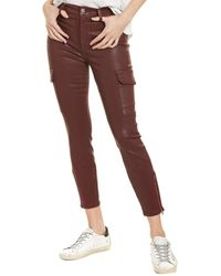 7 For All Mankind 7 For All Mankind Skinny Cargo Pant - Red
