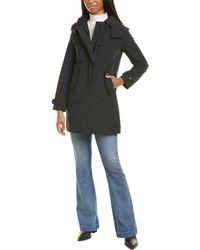 Woolrich Charlotte Medium Trench Coat - Black
