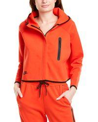 Nike Sportswear Tech Fleece Cape - Red