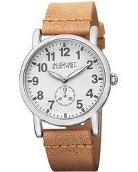 August Steiner - Women's Leather Watch - Lyst