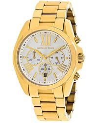 Michael Kors Women's Bradshaw Watch - Metallic