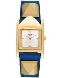 Hermès Hermes Medor Watch, Circa 2000s - Blue