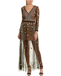 French Connection - Bijou Maxi Dress - Lyst