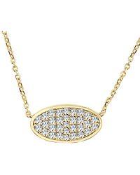 Sabrina Designs 14k 0.44 Ct. Tw. Diamond Necklace - Metallic