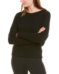 Krimson Klover Elora Cable Pullover - Black