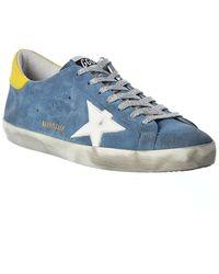 Golden Goose Deluxe Brand Superstar Suede Sneaker - Blue