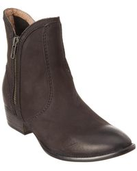 Seychelles Lucky Penny Leather Bootie - Black