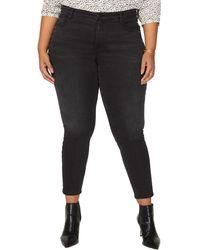NYDJ Plus Ami Frannie Skinny Leg - Black