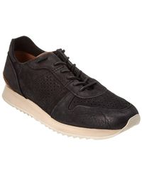 Frye - Men's Keith Runner Leather Trainer - Lyst