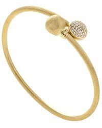Marco Bicego Africa 18k 0.50 Ct. Tw. Diamond Cuff Bracelet - Metallic