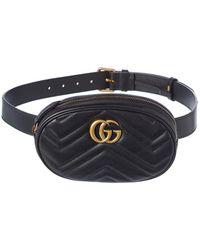 Gucci GG Marmont Matelasse Leather Belt Bag - Multicolour