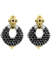 Konstantino 18k & Silver Earrings - Metallic