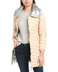 Pinko Quilted Coat - Pink