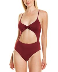 Eberjey So Solid Alexia One-piece - Red