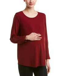 Everly Grey - Maternity Kira Top - Lyst