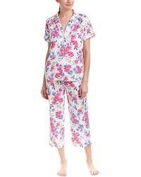 Karen Neuburger - 2pc Girlfriend Capri Pajama Set - Lyst