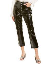 bldwn Parker Leather Pant - Black