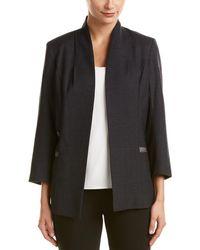 Misook Heritage Fit Wool-blend Jacket - Black