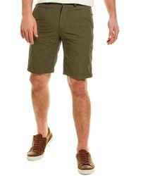 James Perse Metal Tailored Short - Green