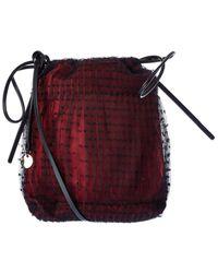 RED Valentino Mesh Bucket Bag - Red