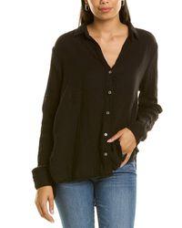 Michael Stars Button Down Shirt - Black
