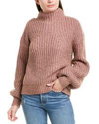 Nicholas Chunky Wool & Alpaca-blend Sweater - Pink