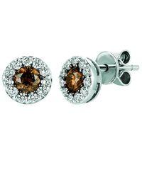 Le Vian ? Chocolatier? 14k Vanilla Gold 0.56 Ct. Tw. Diamond Earrings - Multicolor