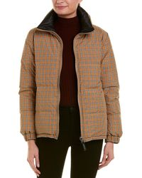 Burberry - Vintage Check Reversible Puffer Jacket - Lyst