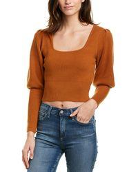 Astr The Label Bijou Sweater - Orange