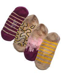 Richer Poorer - Set Of 4 Liner Sock - Lyst