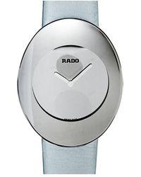 Rado Esenza Quartz Silver Dial Ladies Watch - Metallic