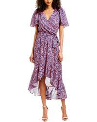 Parker High-low Maxi Dress - Pink