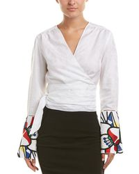 Robert Graham - Linen-blend Top - Lyst