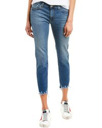 AG Jeans The Prima 13 Years Flowing Cigarette Crop - Blue