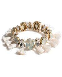 Shiraleah Oriana Stretch Bracelet - Metallic