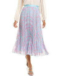 Diane von Furstenberg Kalina Skirt - Blue