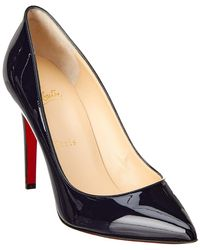 newest 11440 956c3 Christian Louboutin Cadrilla 70 Patent Pump in Black - Lyst