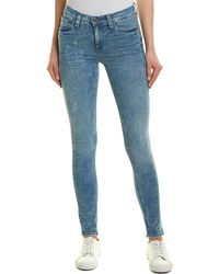 Hudson Jeans Nico Sapphire Acid Super Skinny Leg
