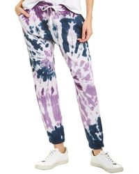 Fate Tie-dye Jogger Pant - Purple