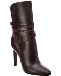 Saint Laurent - Leather Boot - Lyst