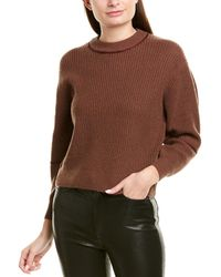 Joie Roshan Wool & Cashmere-blend Sweater - Brown