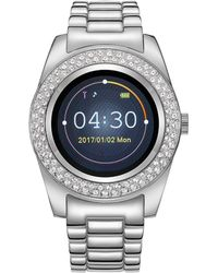 Timothy Stone Silver Smartwatch Watch - Metallic