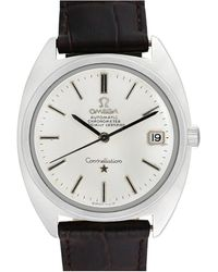 Omega Omega 1970s Men's Constellation Watch - Metallic