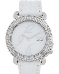 Fendi Selleria Watch - White