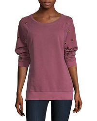Joe's Jeans Izzy Sweatshirt - Purple