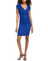 Nicole Miller Shift Dress - Blue