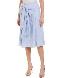 Badgley Mischka Skirt - Blue