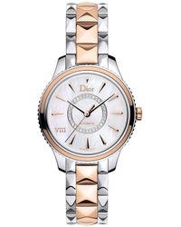 Dior Viii Montaigne Watch - Metallic