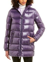 Moncler Pierpaolo Piccioli Down Coat - Purple