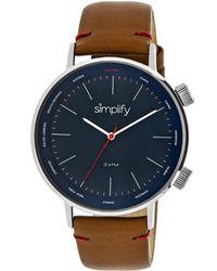 Simplify Unisex The 3000 Watch - Metallic